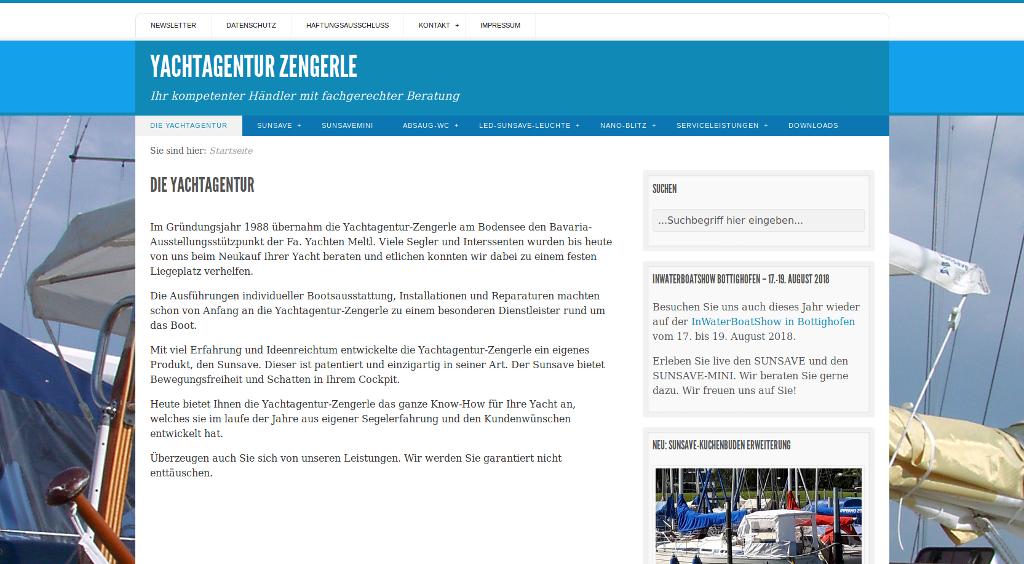 IMP Referenz - Yachtagentur-Zengerle